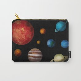 Outer Space Planets Carry-All Pouch