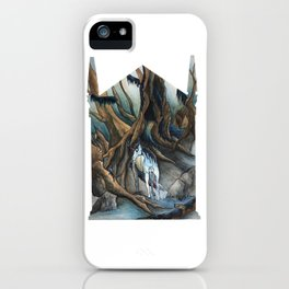 Unicorn in the Forbidden Forest iPhone Case