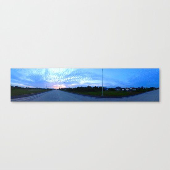 To The Sun Canvas Print