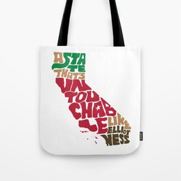 The Untouchable State Tote Bag