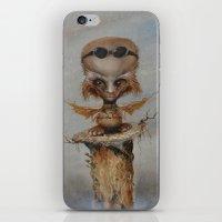 leonardo iPhone & iPod Skins featuring Leonardo by Ed Schaap
