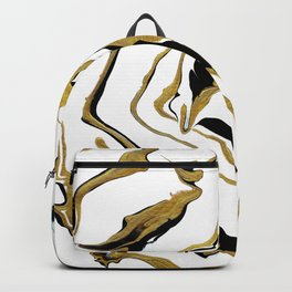 Gold And Black Opulence Backpack