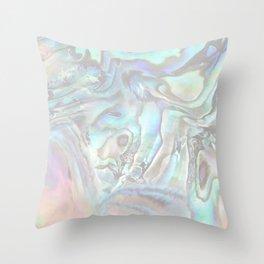 abalone whisper Throw Pillow