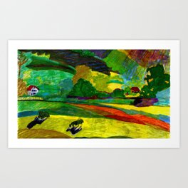 The Day of The King Art Print