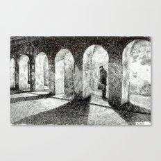 Fingerprint - Arcades Canvas Print