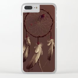 Poisoned dreams Clear iPhone Case