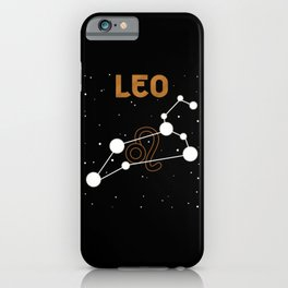 Astrological Sign Leo iPhone Case
