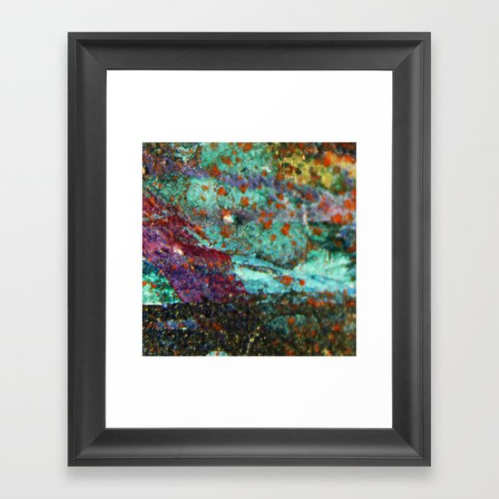 Micropic Framed Art Print