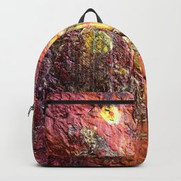 Colorful Nature : Texture Warm Tones Backpack