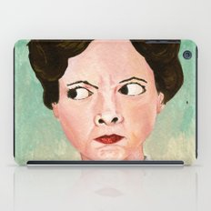 Miss Unbelievably Angry iPad Case