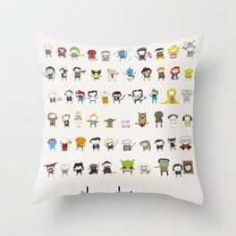 Archetypes Throw Pillow
