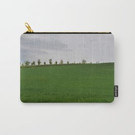 Beautiful spring landscape with hills in Tuscany countryside, Italy Carry-All Pouch
