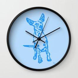 Lajka Podenco 14 Wall Clock
