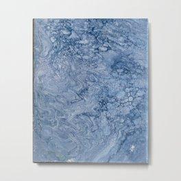 waves | fluid acrylics Metal Print