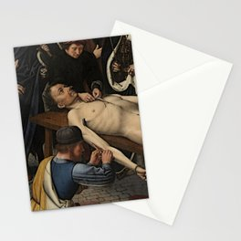 The Judgment of Cambyses Stationery Cards