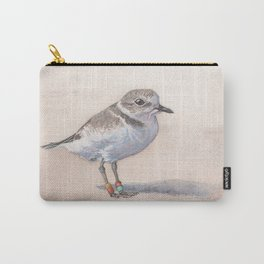 Monterey Bay Snowy Plover Carry-All Pouch