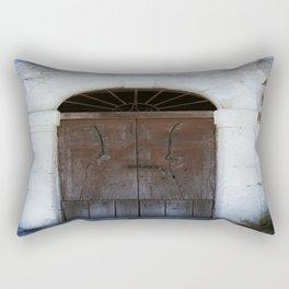Old door II Rectangular Pillow