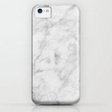 Carrara Marble iPhone 5c Slim Case