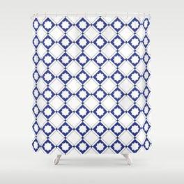 Geometric Pattern - Oriental Star Design 3 Shower Curtain