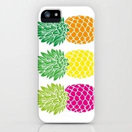 Pineapple Trio iPhone Case