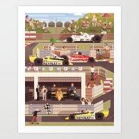 Scene #12: '1979' Art Print