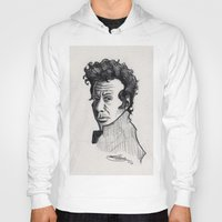tom waits Hoodies featuring TOM WAITS by Simone Bellenoit : Art & Illustration