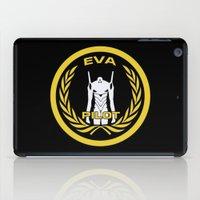 evangelion iPad Cases featuring Evangelion Pilot Logo by Artist Meli