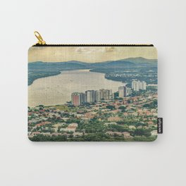 Aerial View of Guayaquil from Window Plane Carry-All Pouch