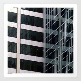Manhattan Windows - Intersection Art Print