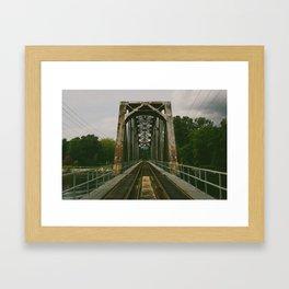Vancouver. Framed Art Print