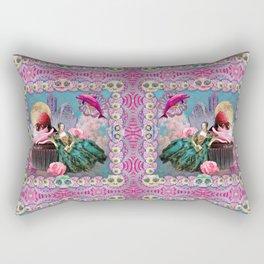 magical crystal dreamland  Rectangular Pillow