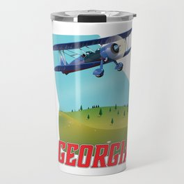 Georgia State USA Travel poster, Travel Mug