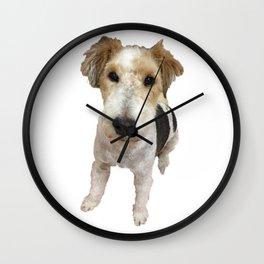 Maxi Fox Terrier Wall Clock