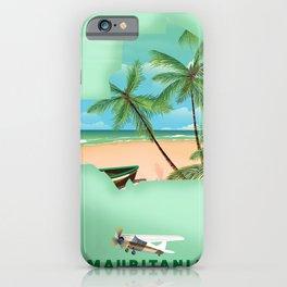 Mauritania iPhone Case