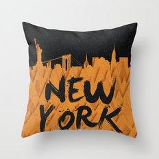 New York (Feat. Filipe Rolim) Throw Pillow