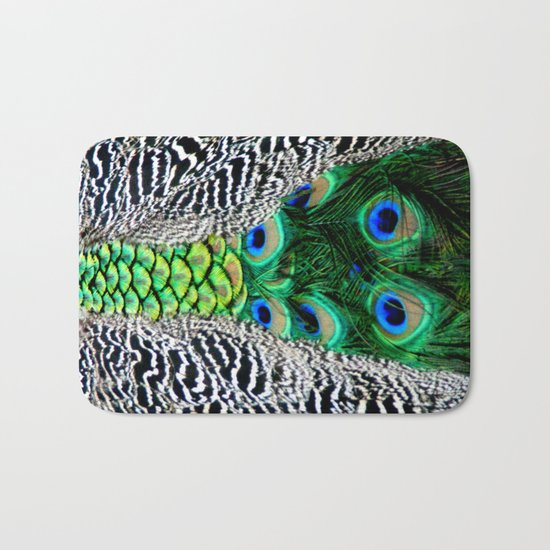 Nature's pattern Bath Mat