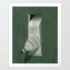 Government Shutdown Art Print