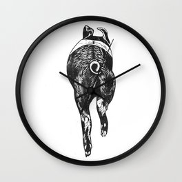 Pass The Pigs Wall Clock