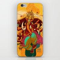 ganesh iPhone & iPod Skins featuring Ganesh by marekolani