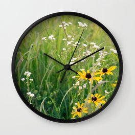 In the Meadow 2 Wall Clock