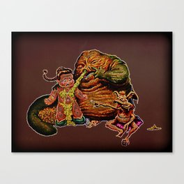 Jabba The Snot Canvas Print