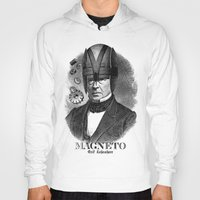 magneto Hoodies featuring MAGNETO by DIVIDUS