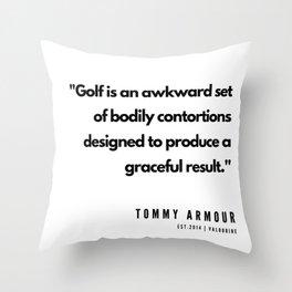 11     | Golf Quotes | 190606 Throw Pillow