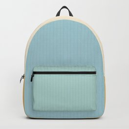 Color Block Line Abstract III Backpack