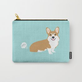 Corgi funny fart dog pure breed gifts dog lovers red corgis Carry-All Pouch