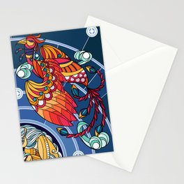 Divided Sky, Benevolent Beasts [3/4] Stationery Cards