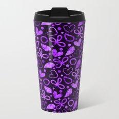 Lovely Pattern ২ Metal Travel Mug