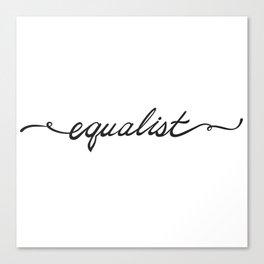 Equalist Canvas Print