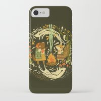 iPhone Cases featuring Animal Chants & Forest Whispers by Teagan White