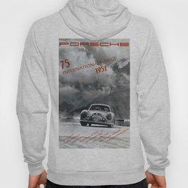 Vintage 1952 Racing Poster Hoody